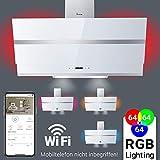 campana extractora Capucha de pared / 90cm / RGB/sensor de iluminación / HERMES907WM / KKT KOLBE