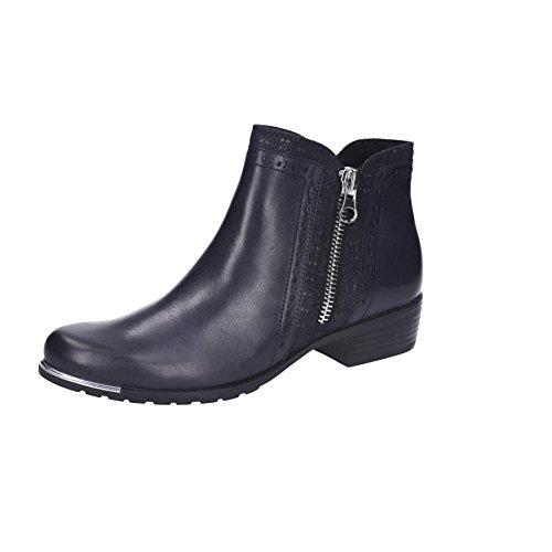 (CAPRICE Frauen Amelia Reißverschluss Knöchel Stiefel 8 UK/ 42 EU Ocean Combi Leather)
