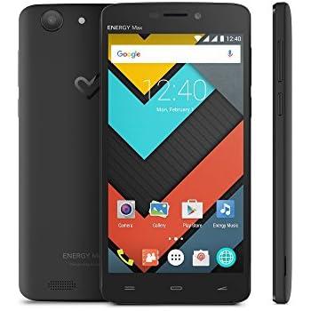 "Energy Sistem Max 4000 - Smartphone de 5"" (IPS HD, 4000 mAh, Quad Core, Android 5.1, Dual SIM, Bluetooth)"