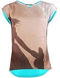 T-Shirt Little Marcel Trisi Turquoise