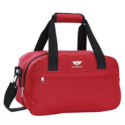 Slimbridge Mora 35x20x20cm pequeña bolsa de equipaje de mano de Ryanair, Rojo