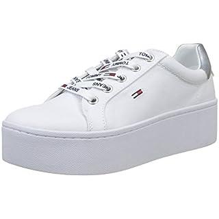 Stiefelparadies Damen Sneaker Slip-Ons Slipper Blumen Dandy Flats Plateau Flache Plateau Damen Sneakers Stoff Schuhe 137807 Weiss Weiss Basic 41 Flandell w2qlXkSBDE