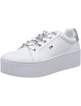 Hilfiger Denim Damen Tommy Jeans Flatform Sneaker