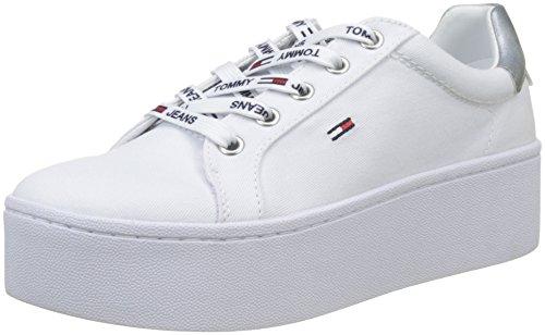 Tommy Jeans Flatform Sneaker, Sneakers Basses Femme