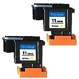 Ouguan® Druckkopf für HP 11 C4813A für HP Business Inkjet 2800 cp1700, HP Designjet 10 20 510 820, HP Officejet 9110 9130, HP Officejet Pro K850
