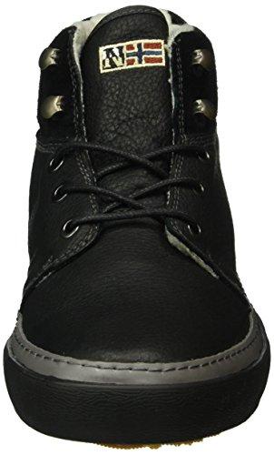 Napapijri Jakob, Baskets Basses Homme Noir - Schwarz (black N00)