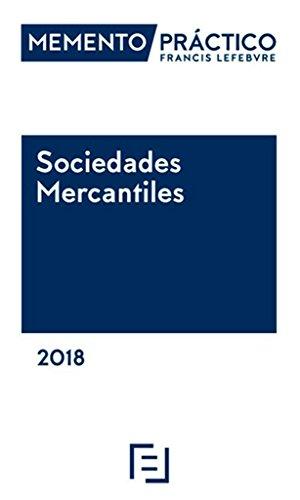 Memento Sociedades Mercantiles 2018 por Lefebvre-El Derecho
