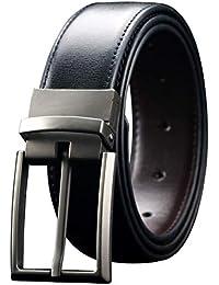 30e28fb2ce6 Men s Reversible Leather Dress Belt 1.3