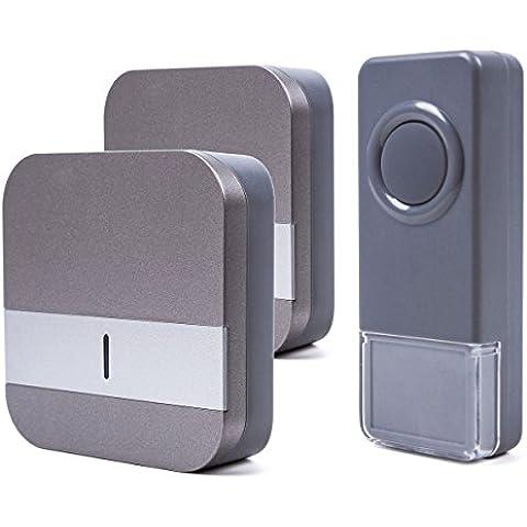 Portable Wireless Doorbell 58 Chime / Over 1640 Ft Range