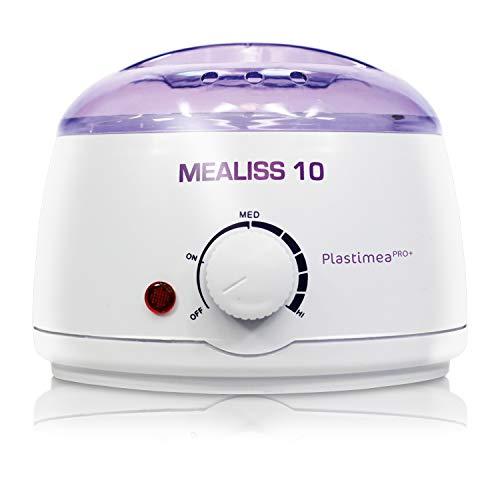 Wachswärmer Brazilian Waxing Wachs MEALISS 10 Heisswachs Haarentfernung Körper Gesicht Wachserhitzer mit Thermostat + Behälter 500 ml Wachs Haarentfernung Wax Warmwachs Gerät Wachserhitzer -