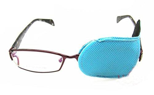 erioctry 6Eye Patch-Amblyopia Eye Patches für Gläser, Kids Eye Patch, Schielen, Lazy Eye Patch für Kinder blau
