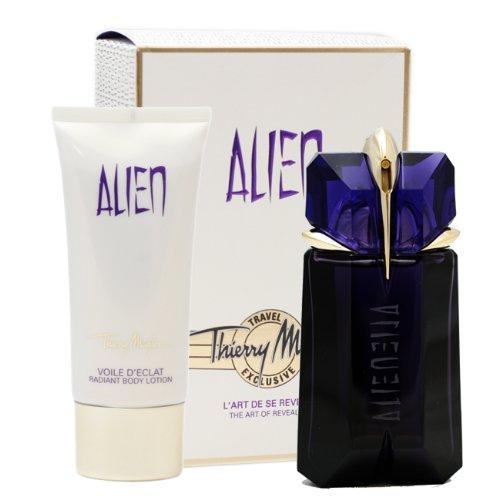 Thierry mugler alien confezione regalo 60ml edp spray + 100ml lozione corpo