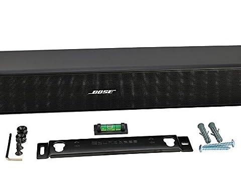 Barre de son support mural Kit avec accessoires de montage pour Bose CineMate® 120, Sound Touch 120ou Solo 5Barre de son, conçu en Angleterre par soundbass