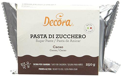 Decora Pâte à Sucre Cacao 250 g