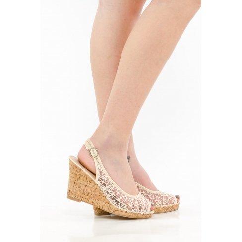 Princesse boutique - Compensées beige Beige