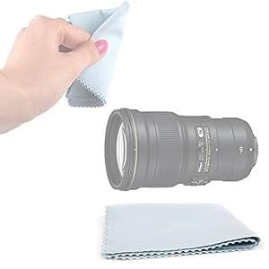 Chiffon microfibre doux DURAGADGET pour objectif zoom Nikon AF-S NIKKOR 300mm f/4E PF ED VR - Garantie 2 ans