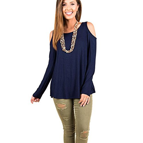 XINRD Camicia - donna Navy blue