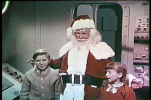 Feature Films For Families - Science Fiction Movie: Santa Claus Conquers the Martians (1964) DVD Starring Pia Zadora