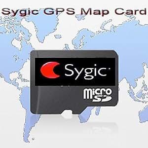 d'origine de marque Sygic gps carte carte, avec 2 Go Carte TF