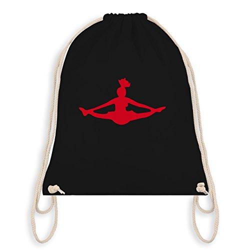 Shirtracer Tanzsport - Cheerleading - Unisize - Schwarz - WM110 - Turnbeutel & Gym Bag