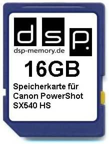 Dsp Memory 16gb Speicherkarte Für Canon Powershot Sx540 Computer Zubehör