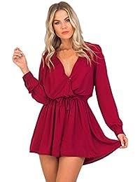 Amazon.it  vestiti donna eleganti da sera lunghi - Donna  Abbigliamento 913ef5de23f
