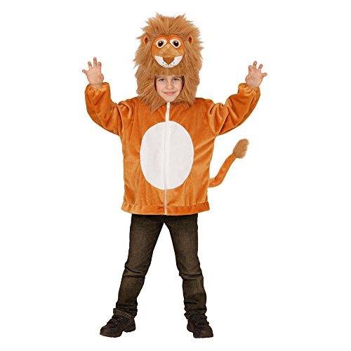 Kuschelig Kostüm Löwen - Widmann - Kinderkostüm Löwe aus Plüsch