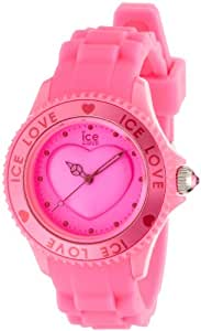 Ice-Watch Ice-Love Pink Small Silicone Watch LO.PK.S.S.10