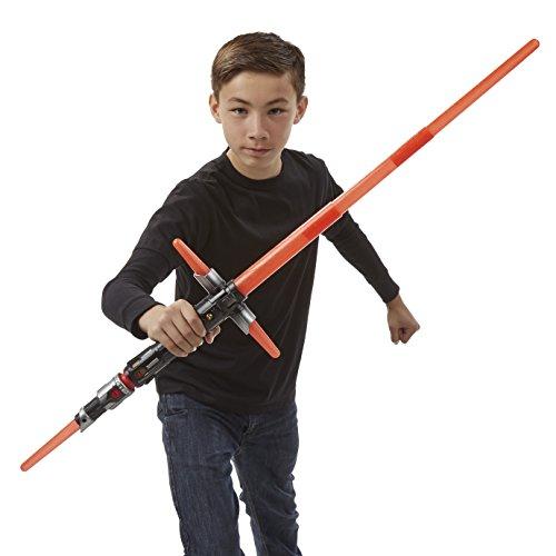 Imagen 6 de Star Wars - Sable electrónico Kylo Ren, Color Rojo (Hasbro B2948EU4)