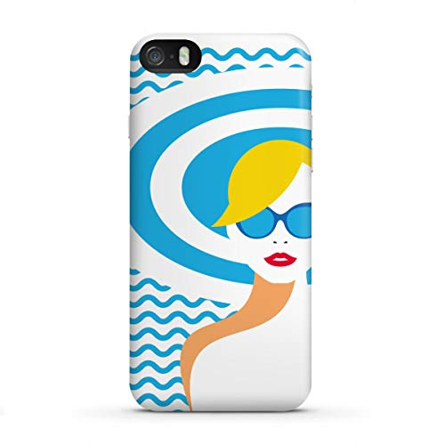 artboxONE Apple iPhone SE Premium-Case Handyhülle Resort Style von Sasha Lend