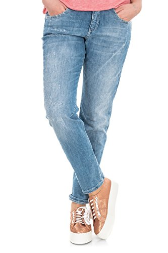 Mac Jeans Sexy Carrot laser stich destroid W38 L OL