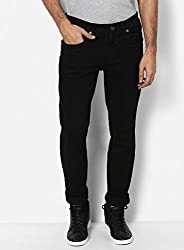 Monte Carlo Black Narrow Fit Denim
