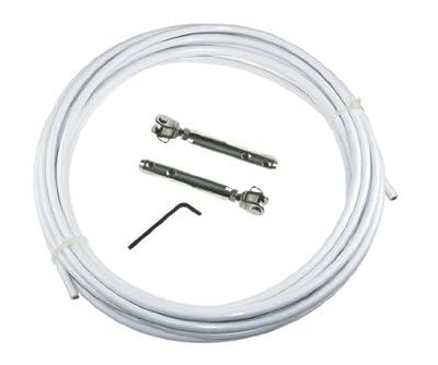 10m Relingdraht-Set 4/7mm Relingsdraht ARBO-INOX