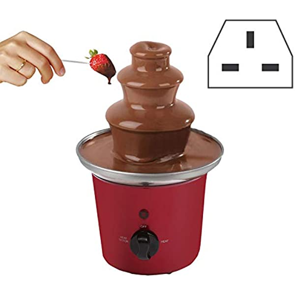 Chocolate Fountain Machine Fondue Home Party Large Set Stainless Steel 3 Tier