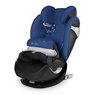 Cybex Pallas M-Fix - Silla de coche, grupo 1/2/3 (9-36 kg, 9 meses-12 años), con Isofix, color azul [Colección 2015] (B00O48R07U) | Amazon price tracker / tracking, Amazon price history charts, Amazon price watches, Amazon price drop alerts