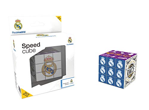 KICK OFF GAMES Real Madrid CF Cube (Version 3X3) (Official Licensed Product)
