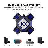 navigatee Adaptador Convertidor De Teclado Y Ratón, Convertidor De Teclado Y Ratón para PS3 PS4 Xbox One Switch Apex 90.17 X 90.17 X 27 Mm