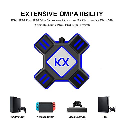 zezego Adattatore per Mouse per Tastiera, Convertitore per Mouse per  Tastiera per PS3 PS4 per Xbox One Apex 90 17 X 90 17 X 27mm
