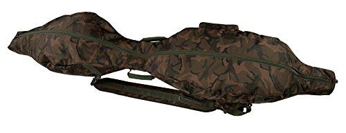 Fox Camolite Rod Holdall 3 up 2 down 12ft 198cm - Rutentasche für Angelruten, Karpfenrutentasche, Rutenfutteral, Angeltasche
