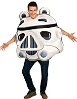 Rubies Fancy Dress - Angry Birds Star Wars - Stormtrooper Pig Costume ADULT ONE SIZE. Contains: Foam costume. The inside of the tunic has a hole to allow for the front of the costume to be stuffed to give the costume a 3D look. OTHER CLOTHING...