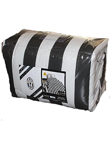 Trapunta matrimoniale juventus fc letto singolo 260 x 270 made in italy *01381