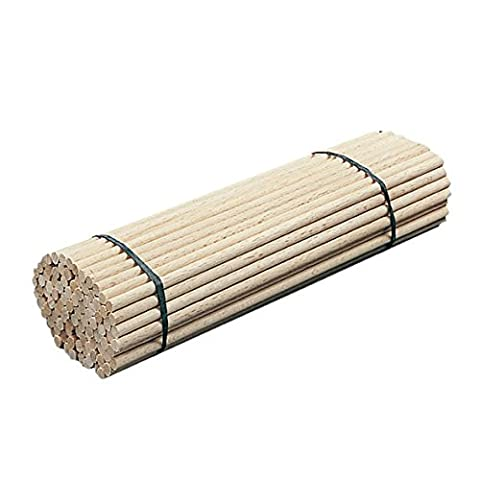 neolab 1–7048une fois 2barreaux en bois, Lot de 150mm x 4mm de diamètre (100)