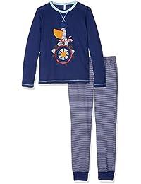 United Colors of Benetton Pyjama Set Longsleeve, Pantalones de Pijama para Niños