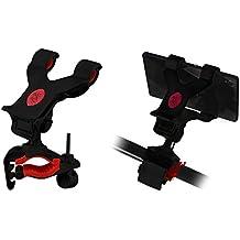 Lilware artigli universale del manubrio della bicicletta telefono/PDA/GPS/MP3player–nero/rosso