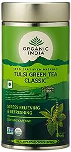 Organic India Tulsi Green Tea, 100g