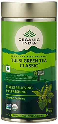 Organic India The Tulsi Green Tea – 100 Grams