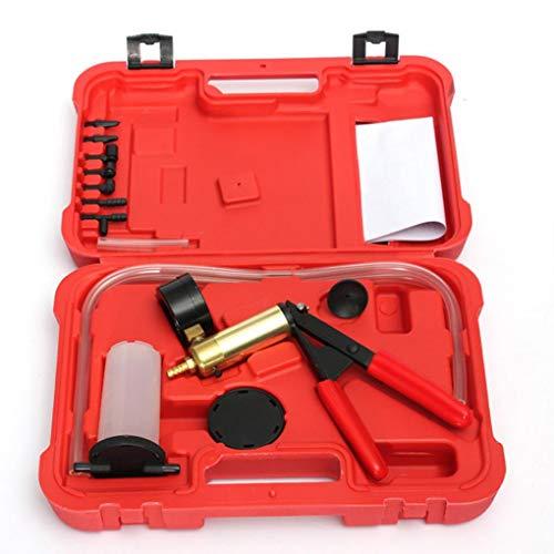 Preisvergleich Produktbild Yongse Handbremsentlüftungs Tester Set Bleed Kit Vakuumpumpe Flüssigkeitsbehälter Tester