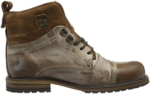 Yellow Cab Soldier M, Bottes Rangers Homme Marron (fauve) - V.1