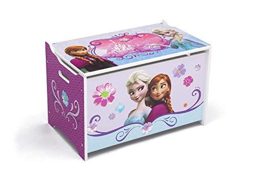 Delta children - cofanetto per giocattoli, in legno, motivo: frozen