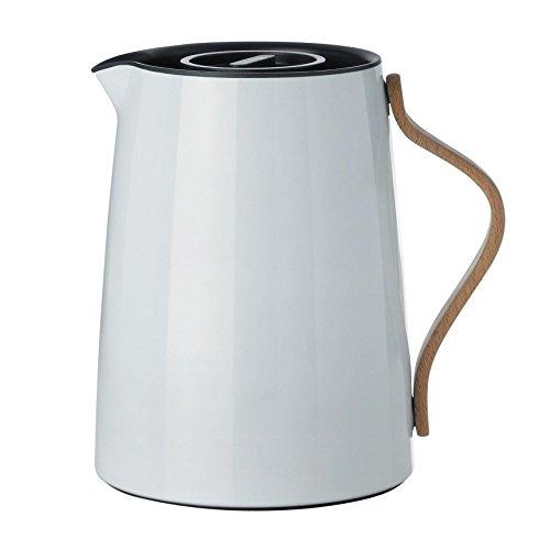 Stelton x-201 Emma Isolierkanne Tee 1 L, Kunststoff, Weiß, 17 x 14 x 19.5 cm
